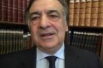 Mattarella presidente, gli auguri del sindaco di Palermo - Video