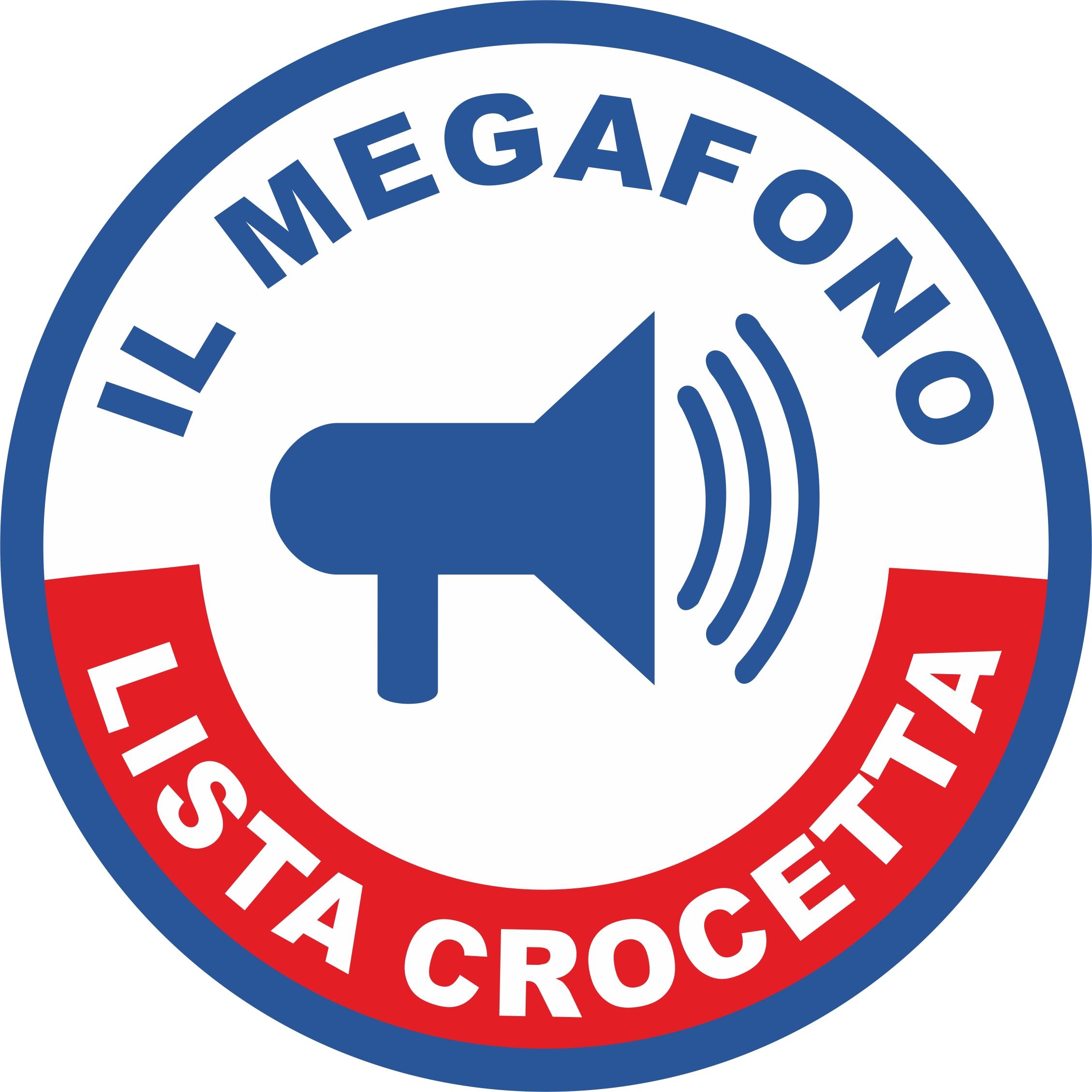 Il megafono crocetta candidating