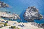 San Vito Lo Capo, distrutta una parte della scogliera - Foto