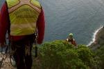 Palermo, altissimo rischio di nuovi crolli dalla parete rocciosa di largo Cristoforo Colombo - Foto