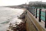 Noto Marina ha perso 350 metri di spiaggia