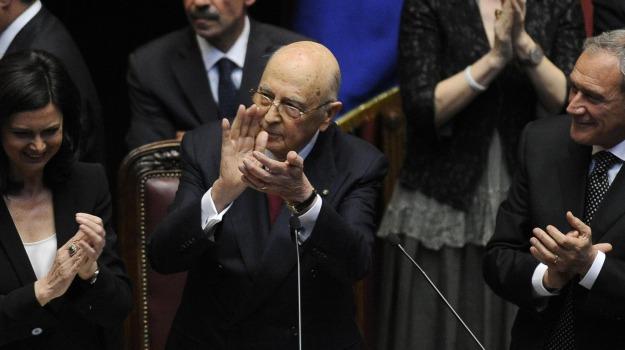 malore napolitano, Giorgio Napolitano, Sicilia, Cronaca