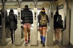 Senza pantaloni in metrò: torna il flashmob in giro per il mondo - Video