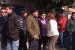 Protestano a Palermo i lavoratori dell'Ato PA 2 Alto Belice - Video