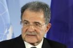 """Prodi: """"Le inimicizie sono il vero ostacolo all'unità a sinistra"""""""