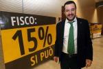 """Dialogo Lega-Forza Italia. Salvini: """"Io e Berlusconi abbiamo parlato del Milan"""""""