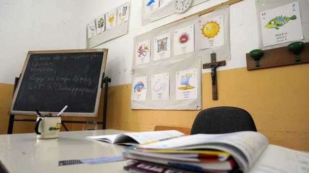 lezione, scuola, Sicilia, Società