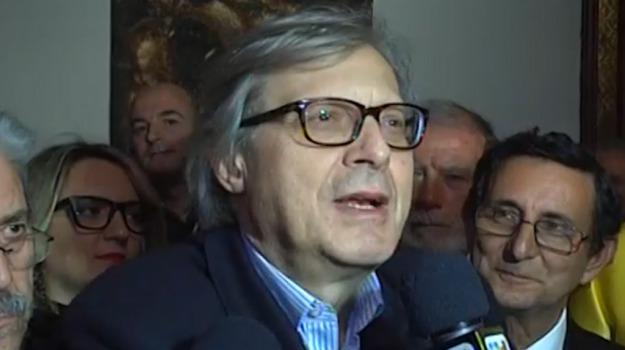campagna elettorale, critico d'arte, offesa, processo, risarcimento, Vittorio Sgarbi, Palermo, Cronaca