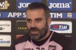 Palermo, il portiere Sorrentino respinge le voci di trasferimento al Bologna: Zamparini ha detto no - Video