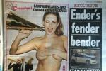 """ll Sun torna al topless e ironizza: """"E' stata solo una pausa"""" - Foto"""