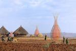 """Warka water, una torre """"made in Italy"""" contro la siccità in Etiopia"""