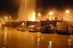 """Esplode condotta dell'acquedotto, a Sanremo un """"geyser"""" nella notte - Video"""