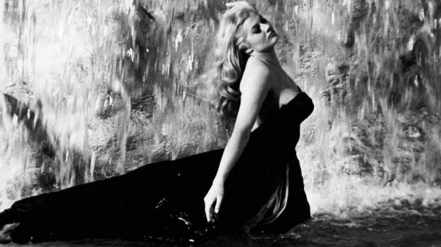 attrice morta, dolce vita, musa, Anita Ekberg, Federico Fellini, Sicilia, Cultura