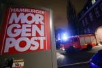 Fiamme a un giornale tedesco: forse legato ad attentato a Charlie Hebdo