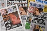 Leader tedesco Bachmann in posa come Hitler: si dimette