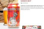 L'immagine di Gandhi nelle lattine di birra, bufera sull'azienda