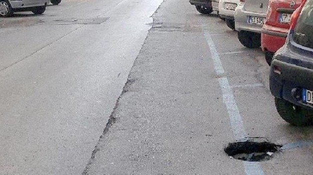 buche strade, Messina, Cronaca