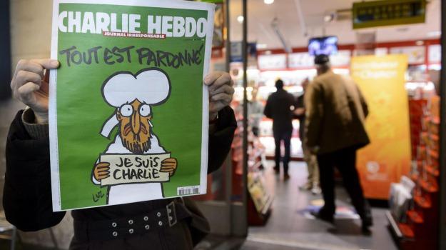Charlie Hebdo, parigi, Sicilia, Cronaca