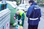 Sacchetti dei rifiuti passati ai raggi X: maxi multe in arrivo a Piazza Armerina