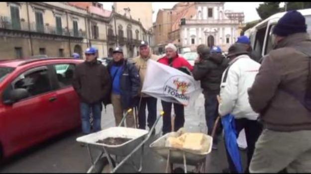forconi, protesta, Sicilia, Economia