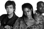 Kanye West, Rihanna e Paul McCartney insieme per FourFiveSeconds