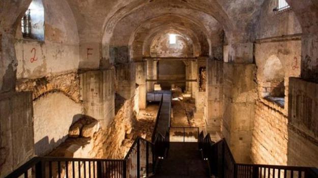 città vecchia gerusalemme, palazzo Erode, Processo a Gesù, Sicilia, Mondo