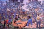 Una mostra a Ribera sui paesaggi dipinti di Gianbecchina