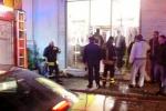 Giarre, attentato incendiario ad un negozio dello shopping center