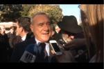 """Anniversario di Mattarella, Grasso: """"Modello a cui mi ispiro"""" - Video"""