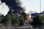 Spagna, schianto aereo in una base Nato: tra i militari feriti 9 italiani