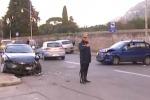 Incidente a Palermo, ferito un uomo