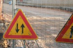 Strada crollata a Enna, riaperto un tratto ma a senso unico