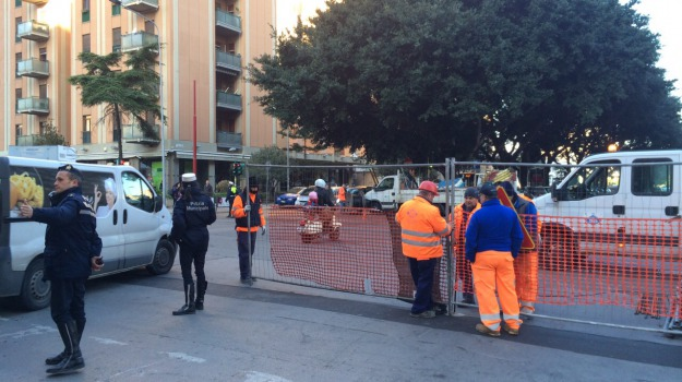 lavori tram palermo, Palermo, Cronaca