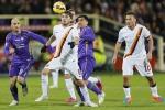 L'ex Ljajic salva la Roma, ma solo pari a Firenze: adesso è -7 dalla Juventus