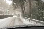 Torna il maltempo a Palermo: pioggia e neve in provincia, allagamenti in città