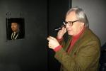 Vittorio Sgarbi torna a visitare il museo Mandralisca di Cefalù - le foto