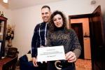 Il matrimonio diventa spettacolo: in tv vince una coppia trapanese