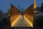 Passerella pedonale sulla Valle dei Templi, lavori terminati