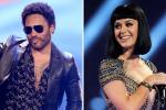 Katy Perry e Lenny Kravitz, show di coppia al Super Bowl 2015 - Le foto