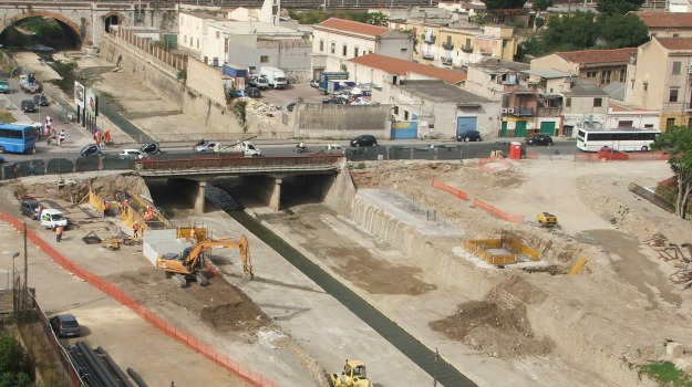 beni culturali, ponte, scavi, teste mozze, Palermo, Cronaca