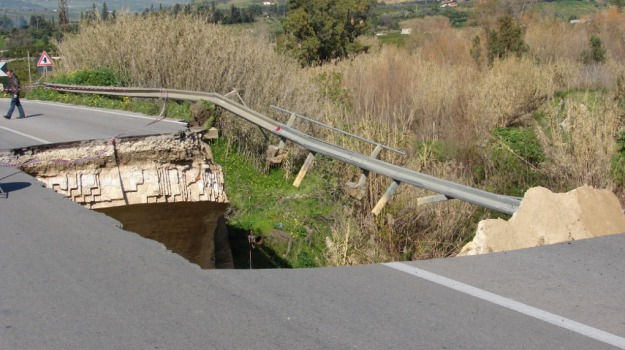 ponte verdura, ribera, Agrigento, Cronaca