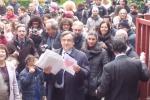 Palermo, furto a scuola: protesta al plesso De Gasperi - Video