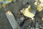 Raffadali, una frana interrompe una strada e minaccia il depuratore - video