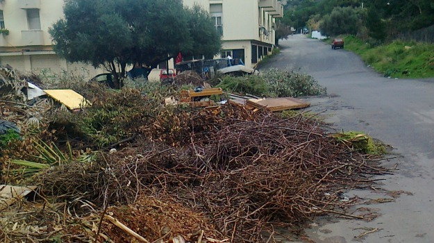 potature, ramaglie, rifiuti, Palermo, Cronaca