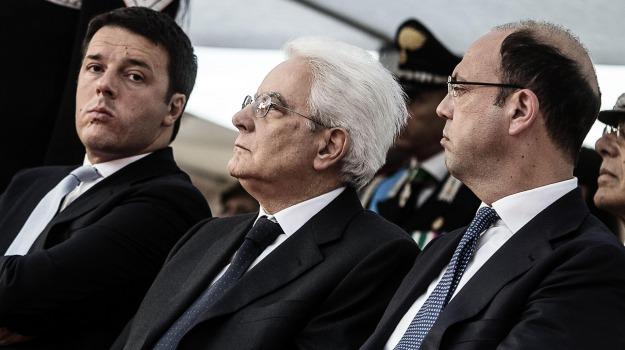 elezioni, presidente della Repubblica, Angelino Alfano, Matteo Renzi, Sergio Mattarella, Silvio Berlusconi, Sicilia, Politica