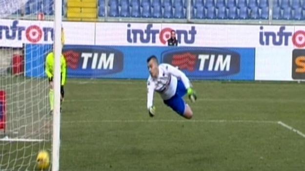 Calcio, gol fantasma, Palermo, rosanero, sampdoria, Beppe Iachini, Franco Vazquez, Michel Morganella, Palermo, Calcio