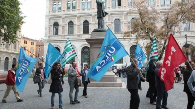 banche, contratto, sciopero, sindacati, Palermo, Cronaca