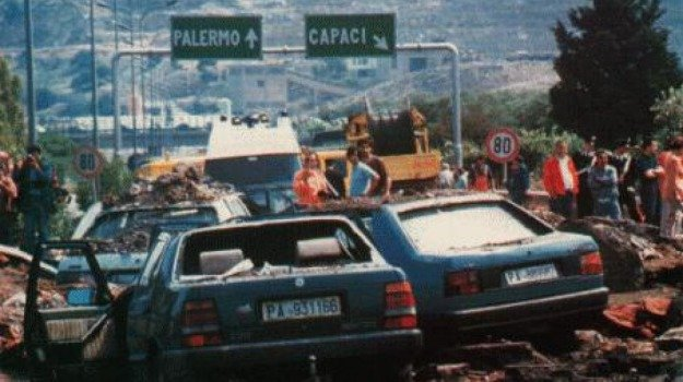 23 maggio 1992, strage capaci, Giovanni Falcone, Sicilia, Domani in Edicola