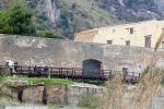 Tonnara Bordonaro a Palermo, crollano calcinacci e tegole