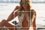 Aida Yespica, tutto il suo prorompente fascino in un... puzzle: la modella gioca a fare la diva sulle spiagge di Miami - Foto